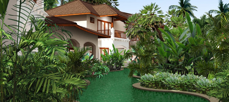 Idea design architects landscape architects cochin for Kerala garden designs
